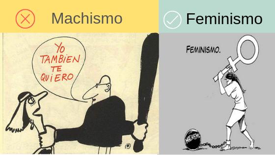 machismo versus feminismo